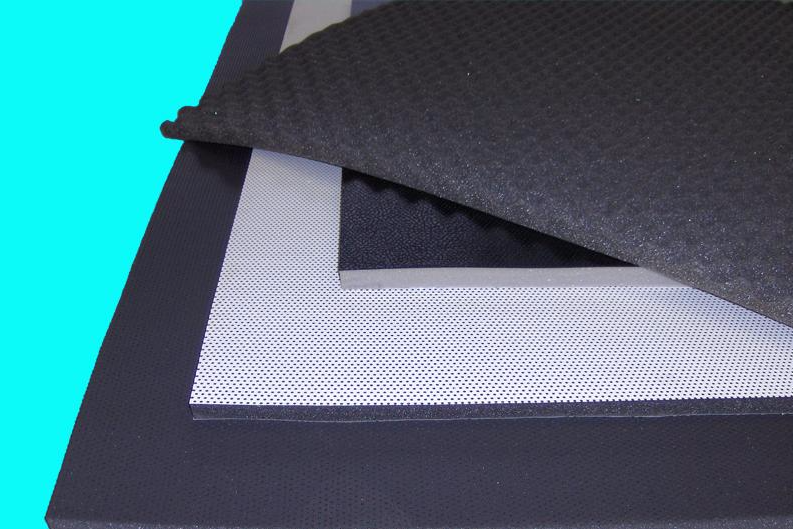 Coated foam and insulation